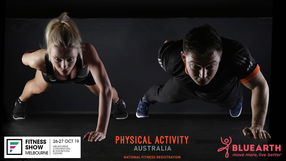Physical Activity Australia Attending Fitness Show Melbourne